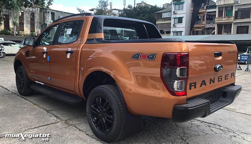 duoi xe ford ranger 2021 Wildtrak 20 4x4 muaxegiatot vn - Đánh giá xe Ford Ranger 2022, Lắp ráp Việt Nam giá không đổi
