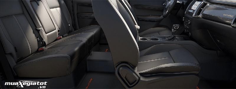 hang ghe sau xe ford ranger 2021 Wildtrak 20 4x4 muaxegiatot vn - Đánh giá xe Ford Ranger 2022, Lắp ráp Việt Nam giá không đổi