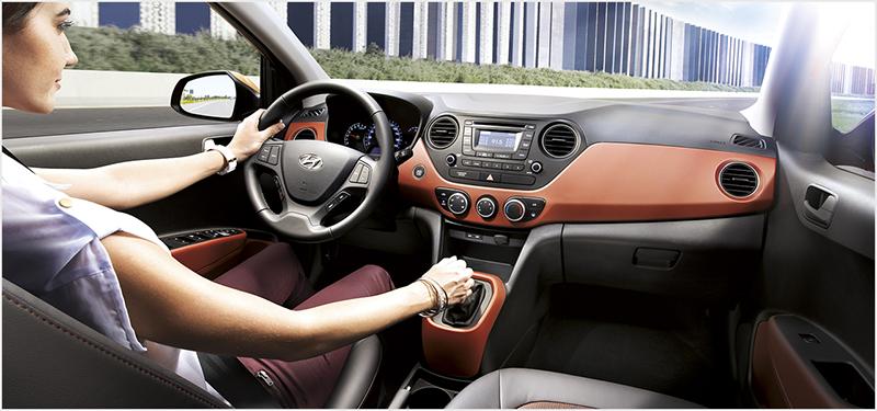 khoang lai i10 sedan 2021 xetot com 7 - Đánh giá xe Hyundai i10 sedan 2022 - Xe 4 cửa giá rẻ